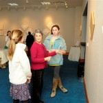 Energy Artist Polly Lazaron discusses her work at Wind Dances Fire exhibit